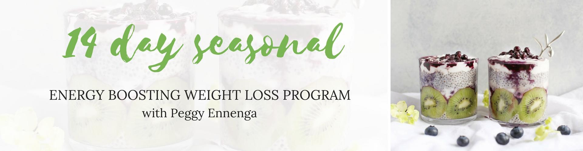 14 Day Seasonal Energy Boosting Weight Loss Program
